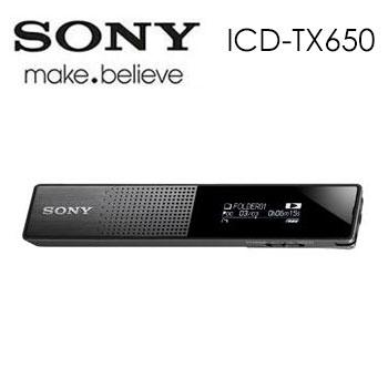 【16G】SONY 數位錄音筆(ICD-TX650/BCE)