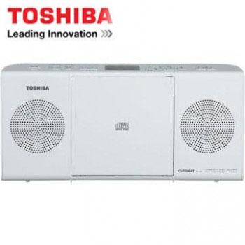 【福利品】 TOSHIBA MP3手提CD音響 TY-CRM23TW(W)(白色)(TY-CRM23TW(W)(白色))