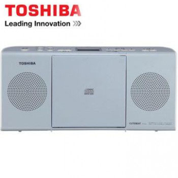 【福利品】 TOSHIBA MP3手提CD音響 TY-CRM23TW(L)(藍色)(TY-CRM23TW(L)(藍色))