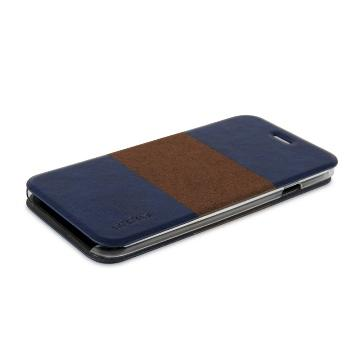 【iPhone 6 Plus】ahha 超薄雙色保護套-深藍(A908012)