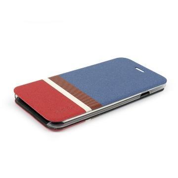 【iPhone 6 Plus】ahha 異國風止滑保護套-藍(A908014)