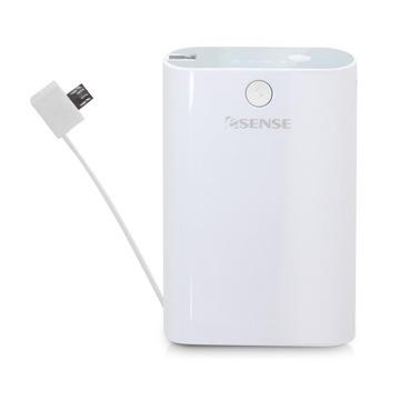 【7800mAh】Esense Powerful 7800行動電源-白
