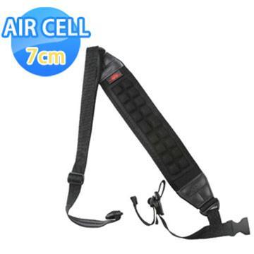 AIR CELL-07 韓國7cm顆粒舒壓腳架背帶 神秘黑(07神秘黑)