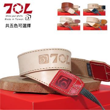 70L SL3501 PLUS 真皮彩色相機背帶 火焰紅(火焰紅)