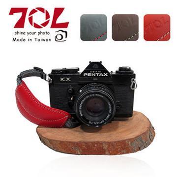 70L DHS01真皮單眼相機手腕帶(附快拆板)(熱情紅)