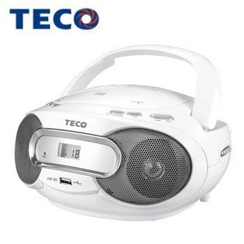 【展示機】東元 USB手提CD音響