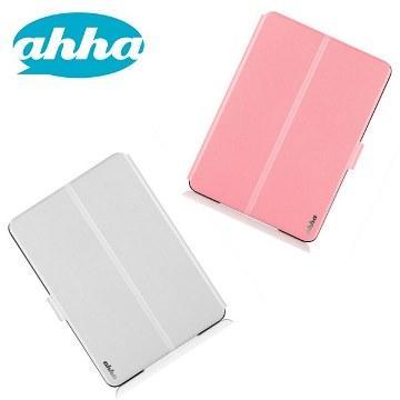 ahha iPad Air 2 雙色換面魔術保護套-粉白/(1個)(A908065)