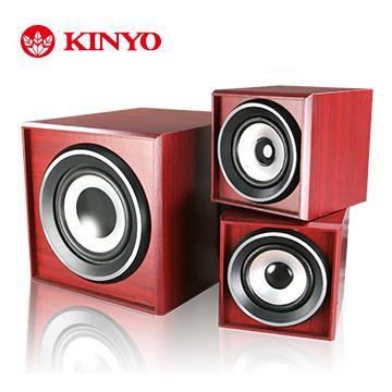 KINYO 2.1聲道典雅全木質音箱(KY-520)