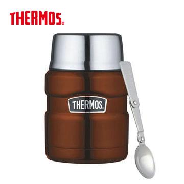 膳魔師不銹鋼真空保溫罐-咖啡色(SK3000-CP)
