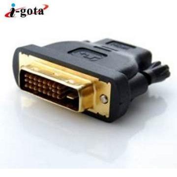 i-gota HDMI母對DVI公影像轉接頭 HDMI-3003G(HDMI-3003G)