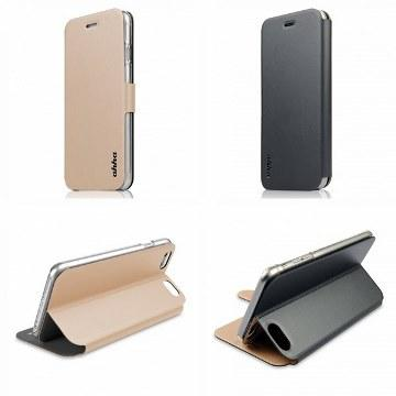 【iPhone 6 Plus】ahha魔術雙面保護殼-灰金(A908075)