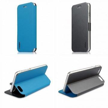 【iPhone 6 Plus】ahha 魔術雙面保護殼-灰藍(A908076)