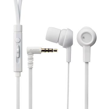 ELECOM 水果耳機麥克風-白(EHP-CS3520MWH)