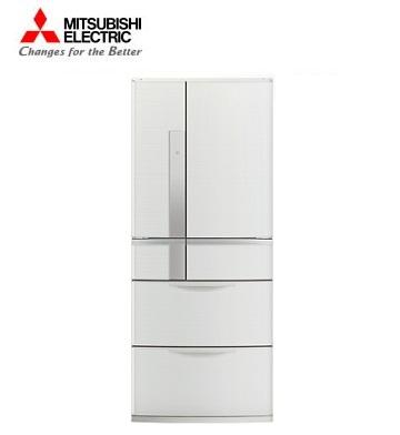 【福利品】MITSUBISHI 635公升瞬冷凍節能六門冰箱(經典白)
