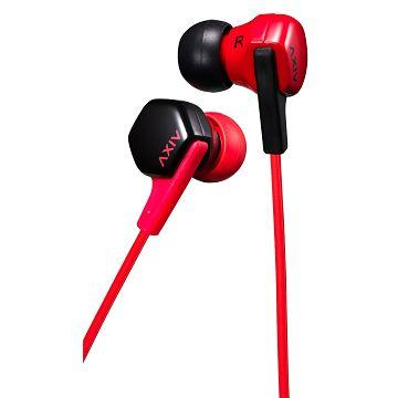 JVC HA-FX17 入耳式耳機-紅黑(HA-FX17-RB)