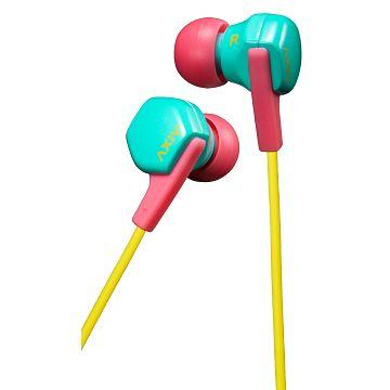 JVC HA-FX17 入耳式耳機-綠粉(HA-FX17-GP)