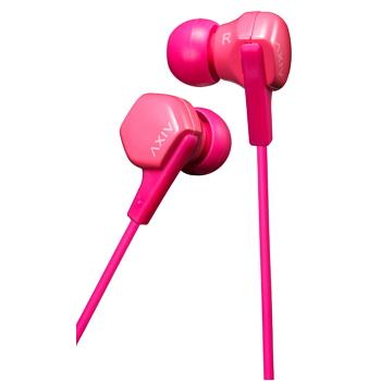 JVC HA-FX17 入耳式耳機-粉紅(HA-FX17-PP)