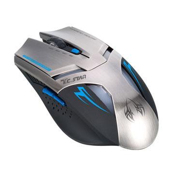 T.C.STAR 電競有線光學滑鼠TCN290BU-藍(TCN290BU)價格