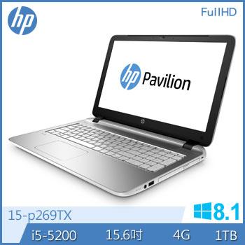 HP 15-p269TX Ci5 GT840 獨顯筆電(15-p269TX)