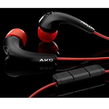AKG K328 耳道式耳麥-黑