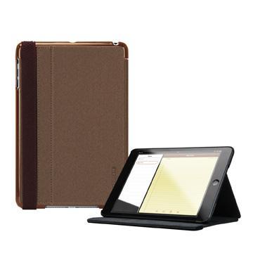 TUNEWEAR iPad mini 3布質保護套-棕(TW-GI-MINIFOLIO-01BR)