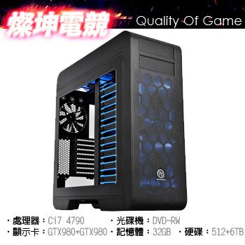 【燦坤電競】HERO GTX980 SLi 512+6T 32G()