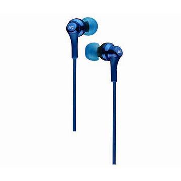 JVC HA-FX26 入耳式耳機-藍(HA-FX26-A)