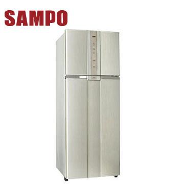 【福利品 】聲寶460公升二門變頻冰箱(炫麥金)