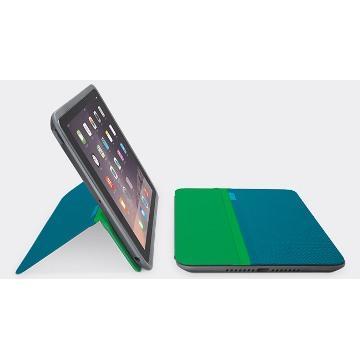羅技 AnyAngle iPad Air 2 保護殼-藍綠(939-001147)
