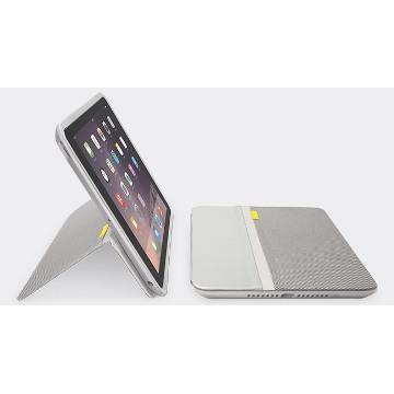 【iPad Mini】羅技 AnyAngle 保護殼-灰白