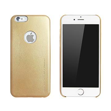 【iPhone 6 Plus】RA 奢華風超薄皮套-香檳金(RAIA-USI6PLGD)