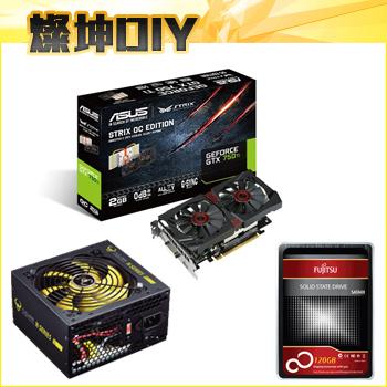 240SSD/STRIX-GTX750Ti/核電N620 電競升級套件組()