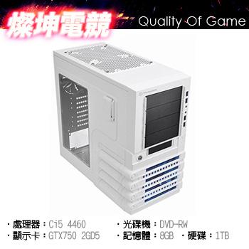 【燦坤電競】冰雪風暴II i5 8G 1T 電競獨顯 GTX750()