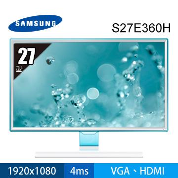 【展示機】SAMSUNG 27型PLS液晶顯示器(S27E360H)