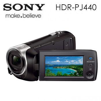 【福利品】 SONY PJ440記憶卡式高畫質投影攝影機(HDR-PJ440)