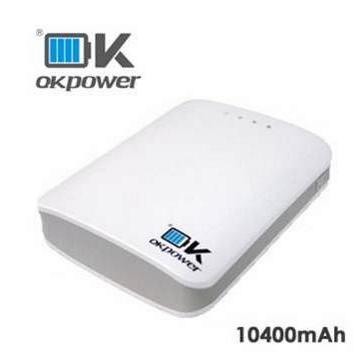 【10400mAh】OK POWER 行動電源(PBL-08)