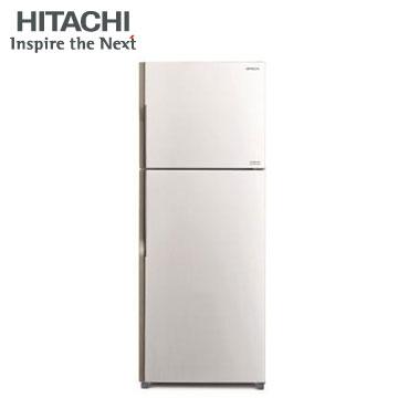 HITACHI 381公升雙風扇變頻冰箱(RV399PWH 典雅白)