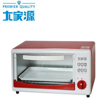 大家源 8L小烤箱(紅)(TCY-3806)