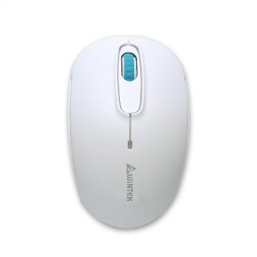 文鎧1200平價王無線滑鼠-白(1200-白)