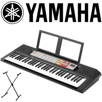 YAMAHA 61鍵手提式電子琴+單叉琴架(PSR-F50)