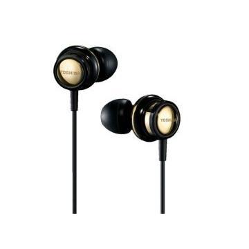 TOSHIBA RZE-S70高音質耳塞式耳機-黑金(RZE-S70(N)黑金色)