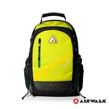 Air Walk 瘋世足限量配色形象大後背包-黃