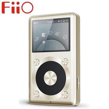 FiiO X1隨身無損音樂播放器-金(FiiO-X1-G)