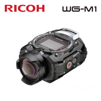 RICOH WG-M1 防水攝影機-黑(WG-M1(黑))
