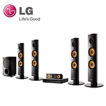 LG 5.1聲道3D藍光家庭劇院 BH6340H(BH6340H)