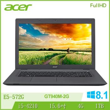 ACER E5-572G Ci5 NV940 獨顯筆電(E5-572G-530D) | 快3網路商城~燦坤實體守護