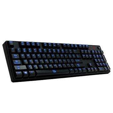 曜越Poseidon Z背光機械式鍵盤(茶軸)