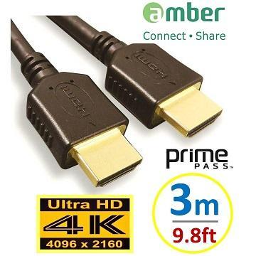 Amber 4K2K HDMI 高階影音線材 3M(AA130)
