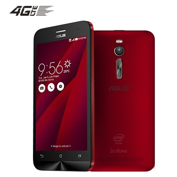 【16G】ASUS ZenFone2 5.5吋-紅(2G RAM)(ZE550ML-1C006TW)