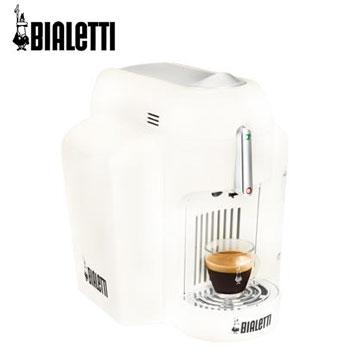 Bialetti義式膠囊咖啡機-天使白(MINI-X1W)